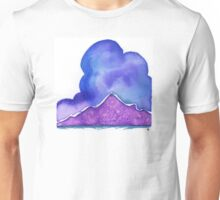 Ute Mountain, in Purple Unisex T-Shirt