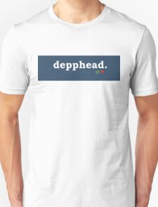 Tumblr-Themed Depphead Tee T-Shirt