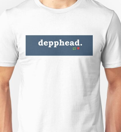 Tumblr-Themed Depphead Tee Unisex T-Shirt