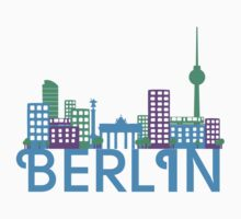Skyline Berlin by ilovecotton
