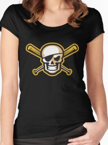 Bradenton Marauders Alternative Logo Women's Fitted Scoop T-Shirt