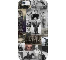 Retro Weird Historic Photo Collage iPhone Case/Skin