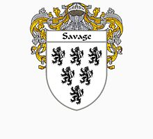 Savage Coat of Arms / Savage Family Crest Unisex T-Shirt