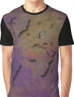 World map special 3 Graphic T-Shirt