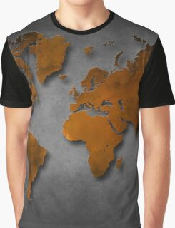 World map special 6 Graphic T-Shirt