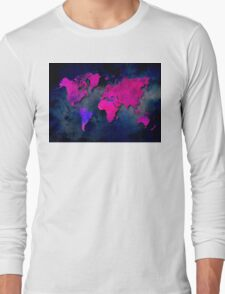 World map special 7 Long Sleeve T-Shirt