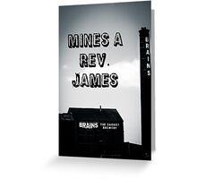 The Rev. James Art Greeting Card