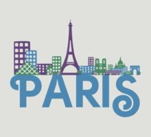 Skyline Paris by ilovecotton