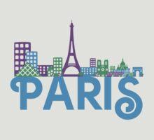Skyline Paris by ilovecotton