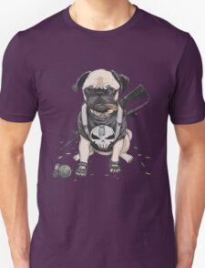 Pug Punisher Army Unisex T-Shirt