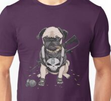 Pug Punisher Army Unisex T-Shirt
