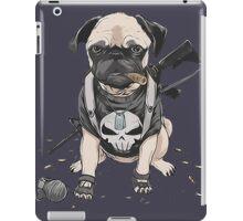 Pug Punisher Army iPad Case/Skin