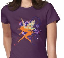 Orange T-Fairy Womens Fitted T-Shirt