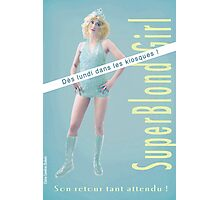 Superblond Girl. Photographic Print