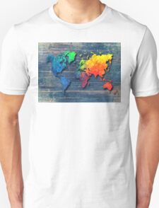 World map special 8 Unisex T-Shirt
