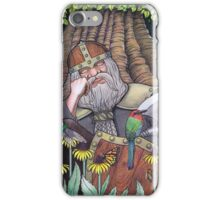 Sleeping Dwarf iPhone Case/Skin