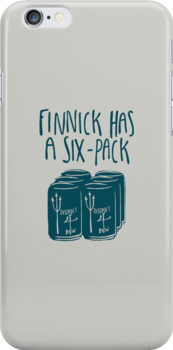 Finnick Has a Six-Pack - Light Shirts by 4everYA