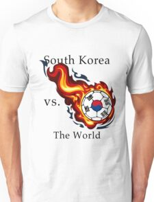 World Cup - South Korea Versus the World Unisex T-Shirt