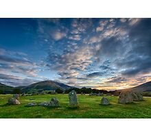 Castlerigg Stone Circle  - Lake District Photographic Print