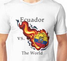 World Cup - Ecuador Versus the World Unisex T-Shirt