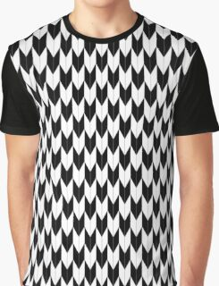 Black and white Arrows (Yabane) Graphic T-Shirt