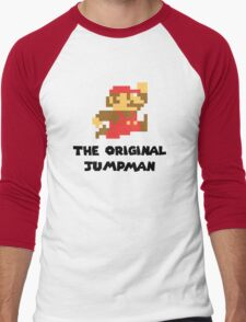 Mario - The Original Jumpman Men's Baseball ¾ T-Shirt