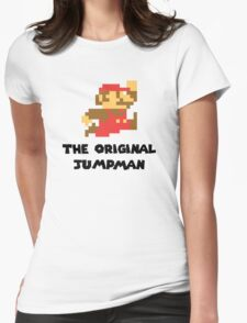 Mario - The Original Jumpman Womens Fitted T-Shirt