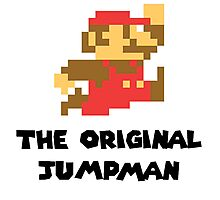 Mario - The Original Jumpman Photographic Print