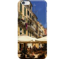 Corfu Town Restaurant iPhone Case/Skin