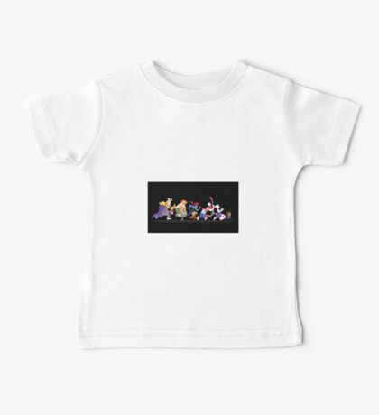 Colored Undertale Characters  Baby Tee