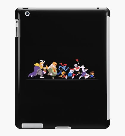 Colored Undertale Characters  iPad Case/Skin
