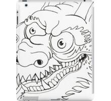 DRAGON HEAD BW iPad Case/Skin
