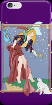 Tarot Fool by redqueenself
