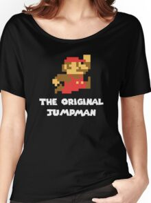 Super Mario - The Original Jumpman Women's Relaxed Fit T-Shirt