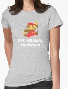 Super Mario - The Original Jumpman Womens Fitted T-Shirt