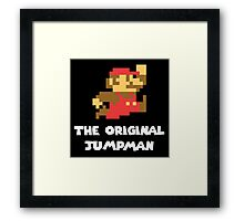 Super Mario - The Original Jumpman Framed Print