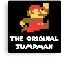 Super Mario - The Original Jumpman Canvas Print
