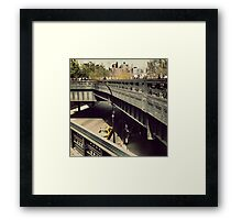 New York High Line Framed Print