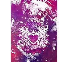 Purple Heart  Photographic Print