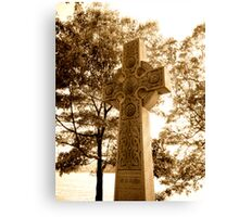 Striking Tombstone Canvas Print