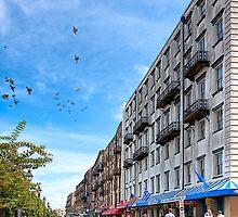 East River Street View - Savannah Georgia by Mark Tisdale