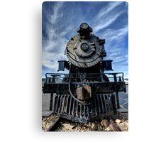 Heber Creeper Locomotive - Utah Canvas Print