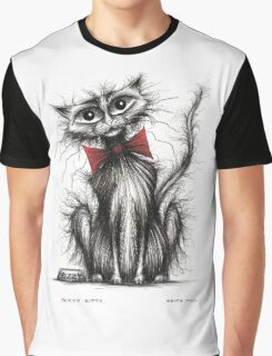 Frizzy kitty Graphic T-Shirt