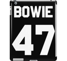 Bowie 47  iPad Case/Skin