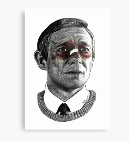 Martin Freeman - Fargo Metal Print