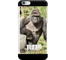 RIP Harambe iPhone Case/Skin