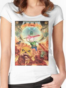 Doom Time Women's Fitted Scoop T-Shirt
