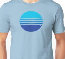 Lovely Blue Circle T-Shirt Unisex T-Shirt