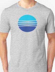 Lovely Blue Circle T-Shirt T-Shirt