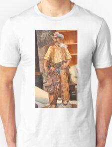 MODEL OF WESTERN COWBOY Unisex T-Shirt